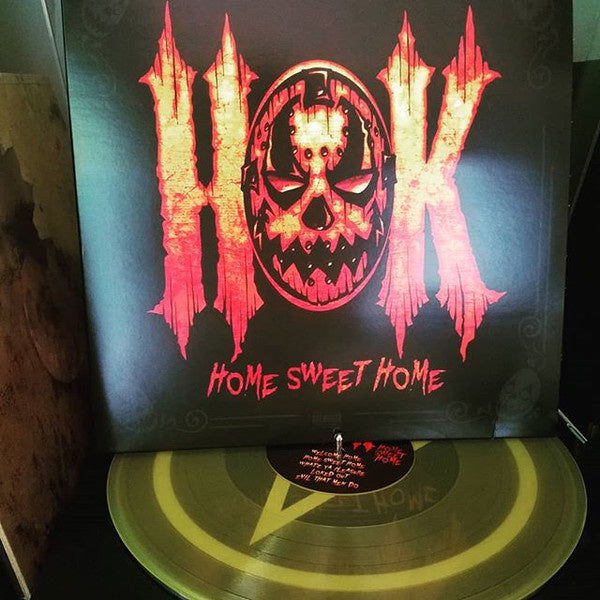 House Of Krazees (Twiztid) – Home Sweet Home - New Vinyl Lp 2018 Majik Ninja Limited Edition '25th Anniversary' Pressing on Translucent Yellow Vinyl - Horrorcore / Rap