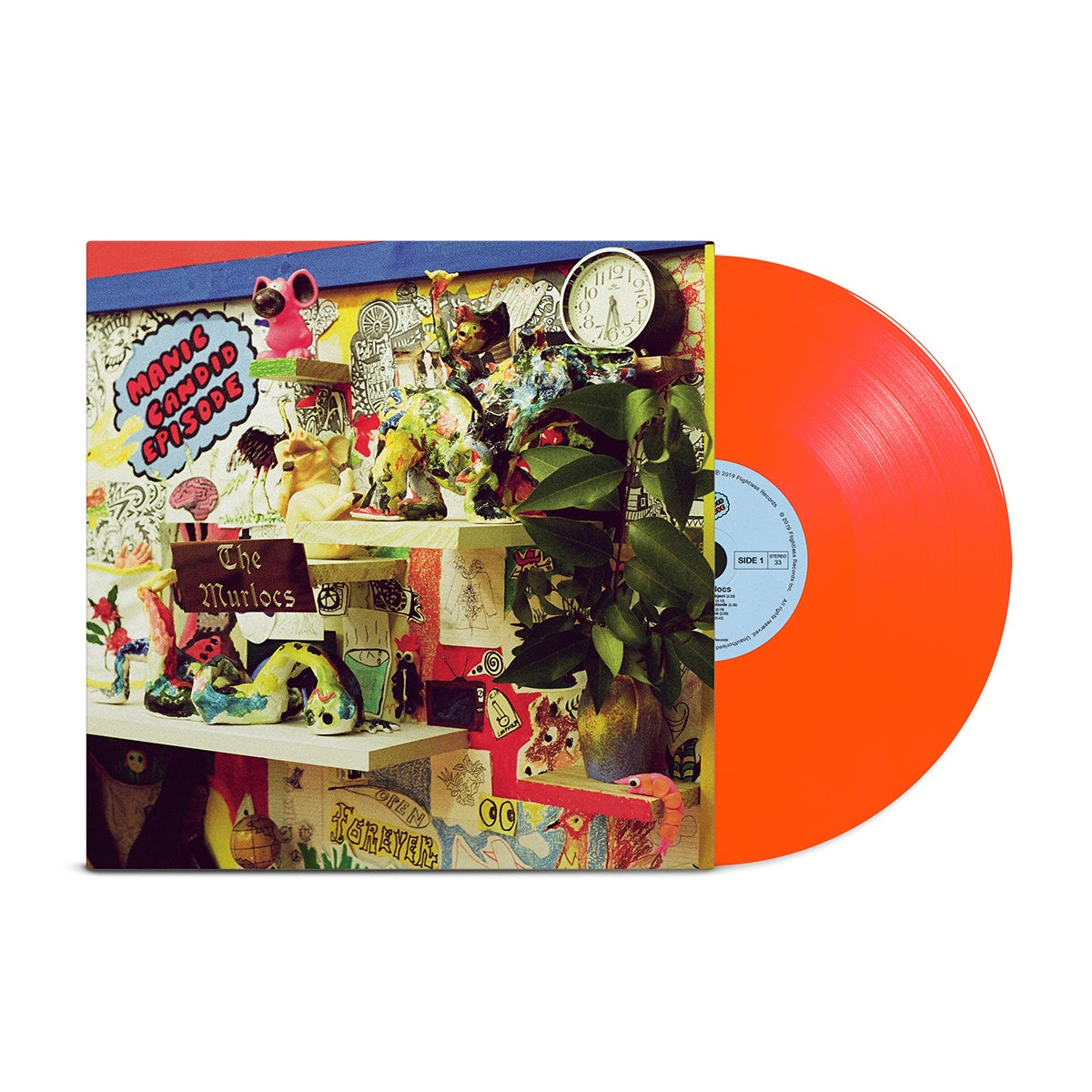 The Murlocs - Manic Candid Episode - New Lp Record 2019 ATO USA Neon Orange Vinyl & Download - Garage Rock / Psychedelic Rock (King Gizzard & The Lizard Wizard Members)