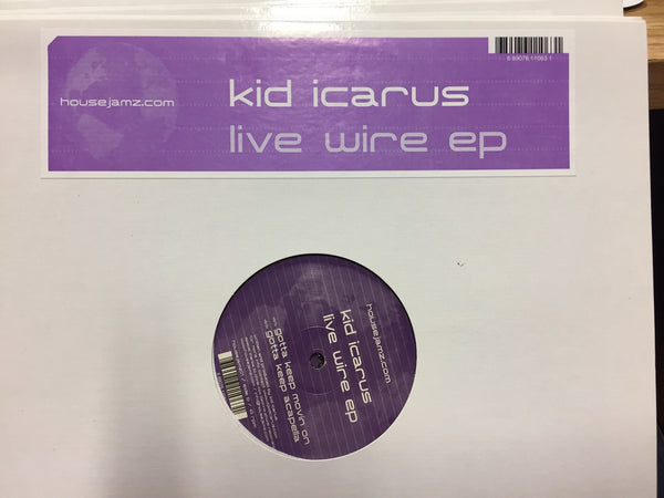 "Kid Icarus - Live Wire EP - Mint- 12"" Single USA 2006 - Funky House"
