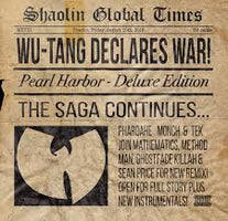 "Wu-Tang Clan ‎– Pearl Harbor - New Vinyl 2018 eOne 12"" Single - Rap / Hip Hop"