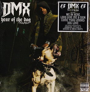 DMX ‎– Year Of The Dog... Again - New 2 Lp Record 2006 Sony / Ruff Ryders USA Vinyl - Hip Hop
