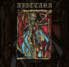 Ajattara ‎– Lupaus - New Vinyl 2017 Svart Records Limited Edition 2LP Pressing with 'Vinyl Exclusive' Bonus Tracks and Etched D-Side - Black Metal