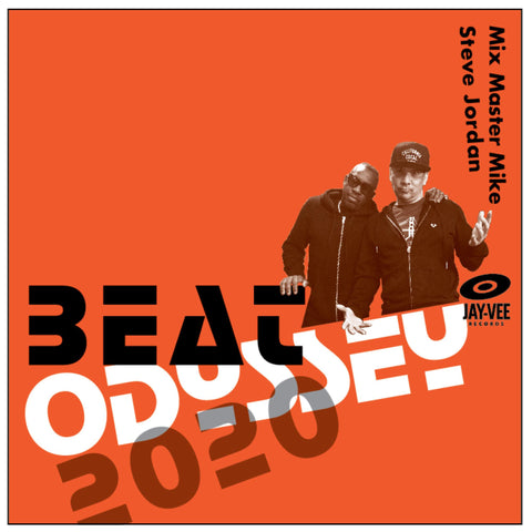 Mix Master Mike & Steve Jordan - Beat Odyssey 2020 - New LP Record 2020 Jay-Vee Vinyl - Hip Hop