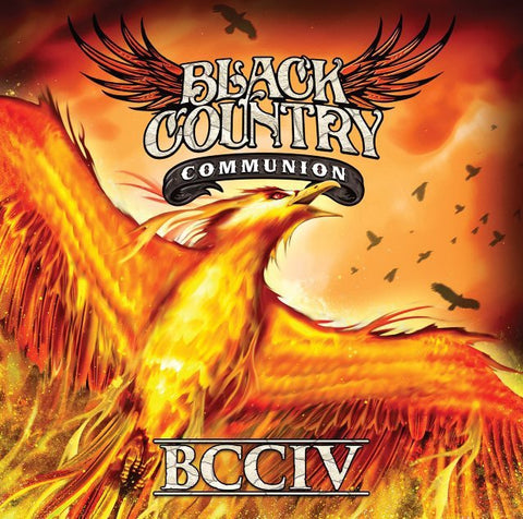 Black Country Communion ‎– BCCIV - New Vinyl Record 2017 Mascot Records Gatefold 2-LP Pressing with Exclusive Bonus Track and Download - Country / Blues Rock