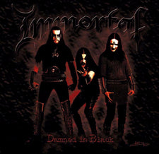 Immortal ‎– Damned In Black (2000) - New Vinyl 2017 Osmose Productions Limited Edition Gatefold Reissue - Black Metal