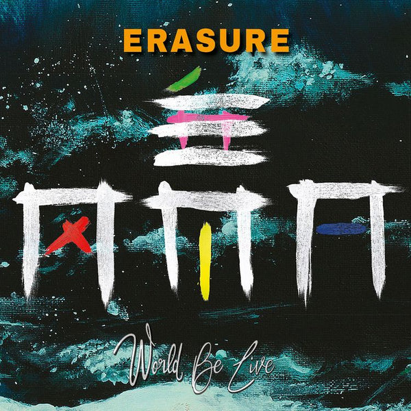 Erasure - World By Live - New Vinyl 2018 MTE 3 Lp - Synth-Pop / Electronic