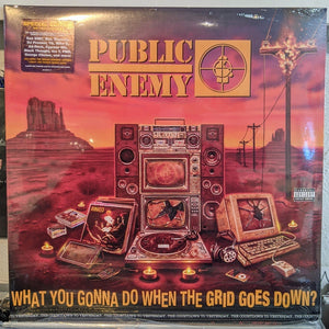 Public Enemy ‎– What You Gonna Do When The Grid Goes Down? - New LP Record 2020 Enemy USA Vinyl, Poster, & Stickers - Hip Hop