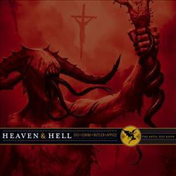 Heaven & Hell - The Devil You Know - New Vinyl Record 2016 Rhino Records ROCKtober Limited Edition Orange & Gold Etched Vinyl Pressing w/ Poster - Rock