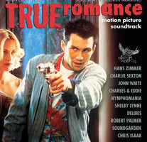 (PRE-ORDER)  Various ‎– True Romance (Motion Picture Soundtrack) - New Vinyl Lp 2018 Real Gone '25th Anniversary' Reissue on Clear with White Splatter Vinyl (Limited to 1700!) - 90's Soundtrack