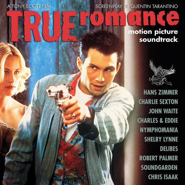 Various ‎– True Romance (Motion Picture Soundtrack) - New Vinyl Lp 2018 Real Gone '25th Anniversary' Reissue on Clear with White Splatter Vinyl (Limited to 1700!) - 90's Soundtrack