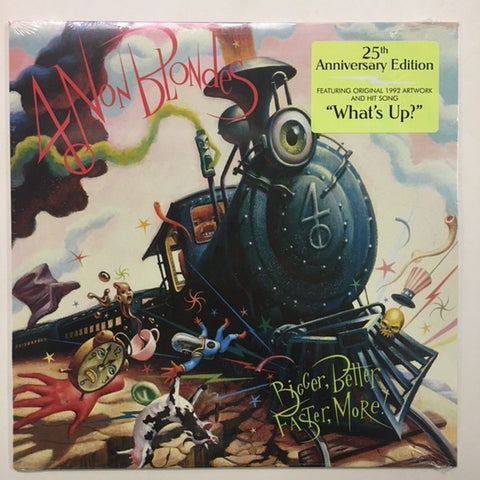 4 Non Blondes ‎– Bigger, Better, Faster, More! (1992) - New LP Record 2017 Interscope USA Vinyl - Alternative Rock