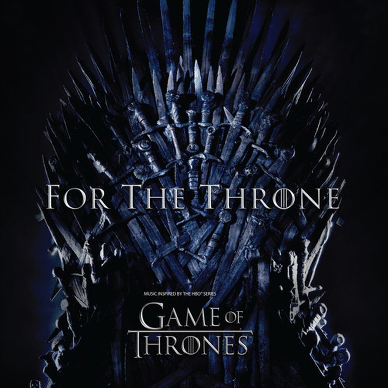 Various - For The Throne (Music Inspired By The HBO Series Game Of Thrones) - New 2019 Record LP 140gram Black Vinyl - Pop