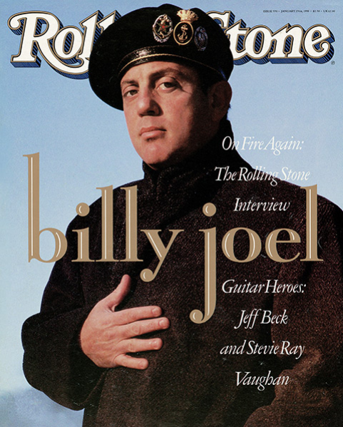 Rolling Stone Magazine - Issue No. 570 - Billy Joel
