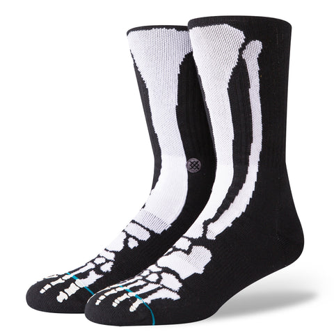 Stance Socks - Bones 2 *Glow in the Dark Features* -  Men's size 9-12