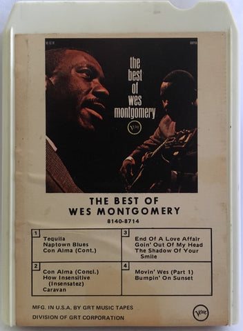 Wes Montgomery ‎– The Best Of Wes Montgomery - Used Cassette Verve - Jazz
