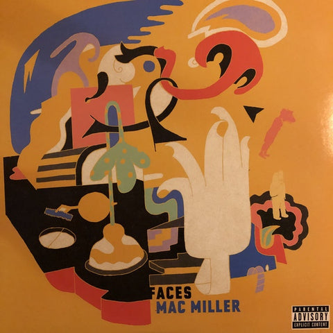 Mac Miller ‎– Faces (2014) - New 2 Lp Record 2020 REMember Music Europe Import Colored Vinyl - Hip Hop