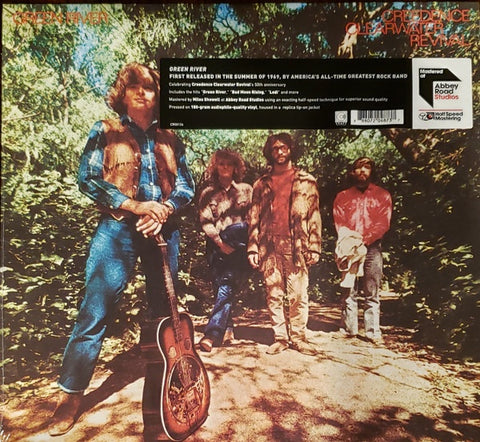 Creedence Clearwater Revival ‎– Green River (1969) - New Vinyl LP Record 2019 Craft EU Vinyl Reissue - Southern Rock