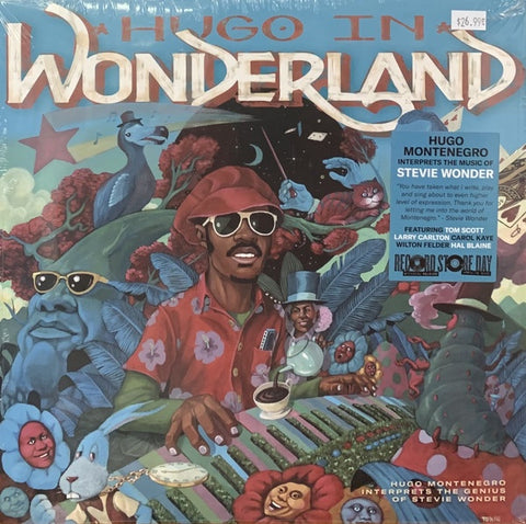 Hugo Montenegro - Hugo in Wonder-Land (1974) - New Lp Record Store Day 2020 Nature Sounds USA RSD Vinyl - Jazz-Funk
