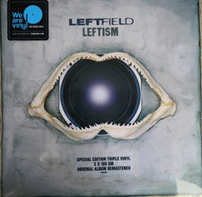 Leftfield ‎– Leftism (1995) - New Vinyl 2017 We Are Vinyl 180Gram 3-LP Special Edition Remastered Gatefold Pressing with Download - Electronic / Leftfield / Downtempo
