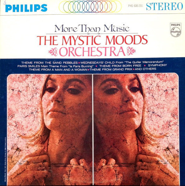 The Mystic Moods Orchestra - More Than Music - VG+ 1967 Stereo USA - Jazz