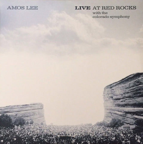 Amos Lee ‎– Live At Red Rocks With The Colorado Symphony - New 2 LP Record 2015 Soma Eel Bone White Vinyl - Folk Rock