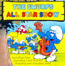 The Smurfs - The Smurfs All Star Show Did - VG 1981 (UK Import) Stereo - Kids/Children's