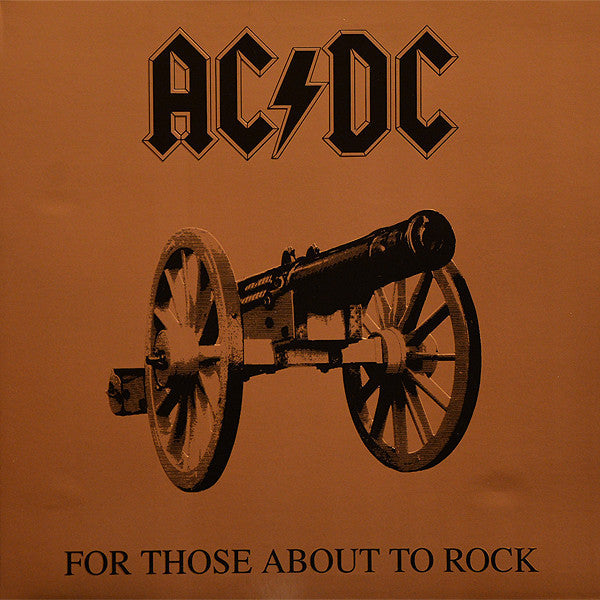 AC/DC ‎–  For Those About To Rock (We Salute You) (1981) - New Lp Record 2003 USA 180 Gram Vinyl - Hard Rock