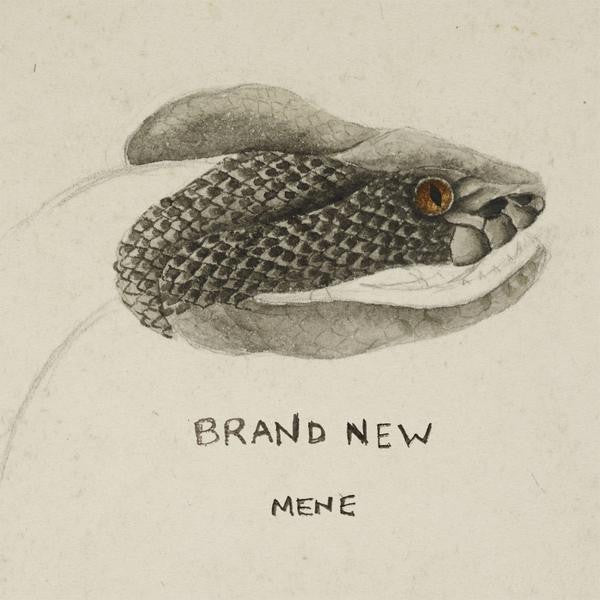 "Brand New - Mene / Out of Range - New Vinyl 2016 Procrastinate Music Traitors Limited Edition 7"" on Clear Vinyl - Alt-Rock / Emo / Pop-Punk"