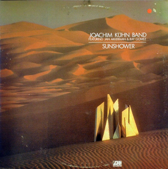 Joachim Kühn Band Featuring Jan Akkerman & Ray Gomez ‎– Sunshower - VG+ Lp Record 1978 Atlantic USA Vinyl - Jazz / Fusion