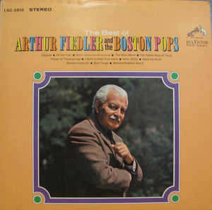 Arthur Fiedler And The Boston Pops - The Best Of - New Vinyl 1965 Stereo Original Press USA - Classical