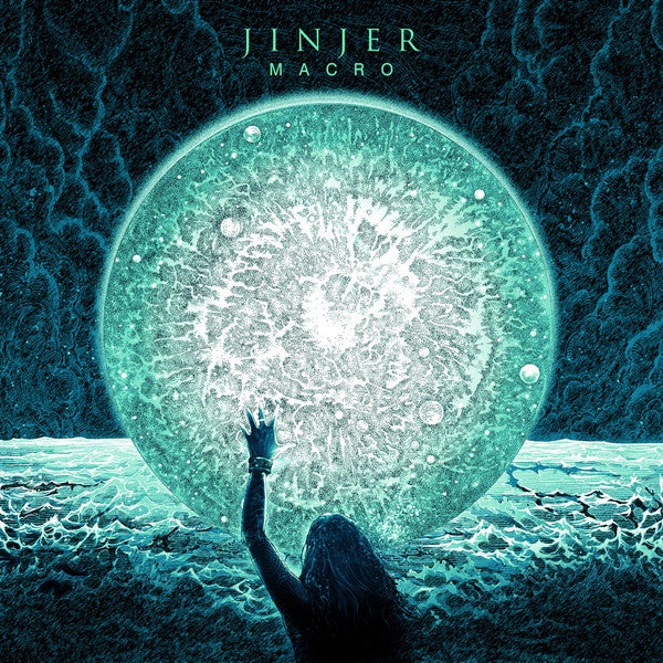Jinjer ‎– Macro - New Record LP 2019 Napalm Limited Edition Turquoise Vinyl - Prog Metal / Metalcore