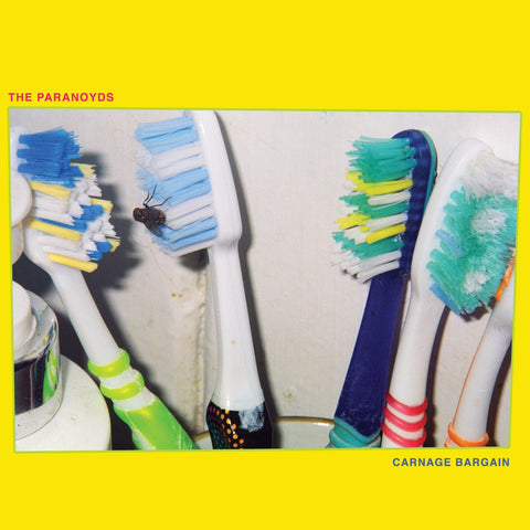 The Paranoyds - Carnage Bargain - New LP Record 2019 Suicide Squeeze Opaque Blue Vinyl - Garage Rock / New Wave