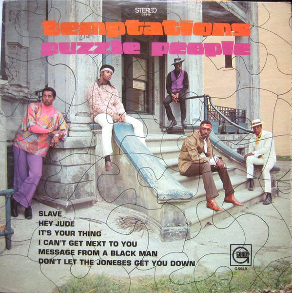 The Temptations - Puzzle People - Mint- Stereo 1974 USA Original Press (WIth Macthing Inner Sleeve) - Soul/Funk