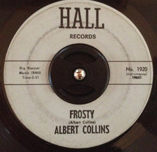 Albert Collins ‎– Frosty / Tremble - VG- 45rpm 1964 USA - Soul / Rhythm & Blues