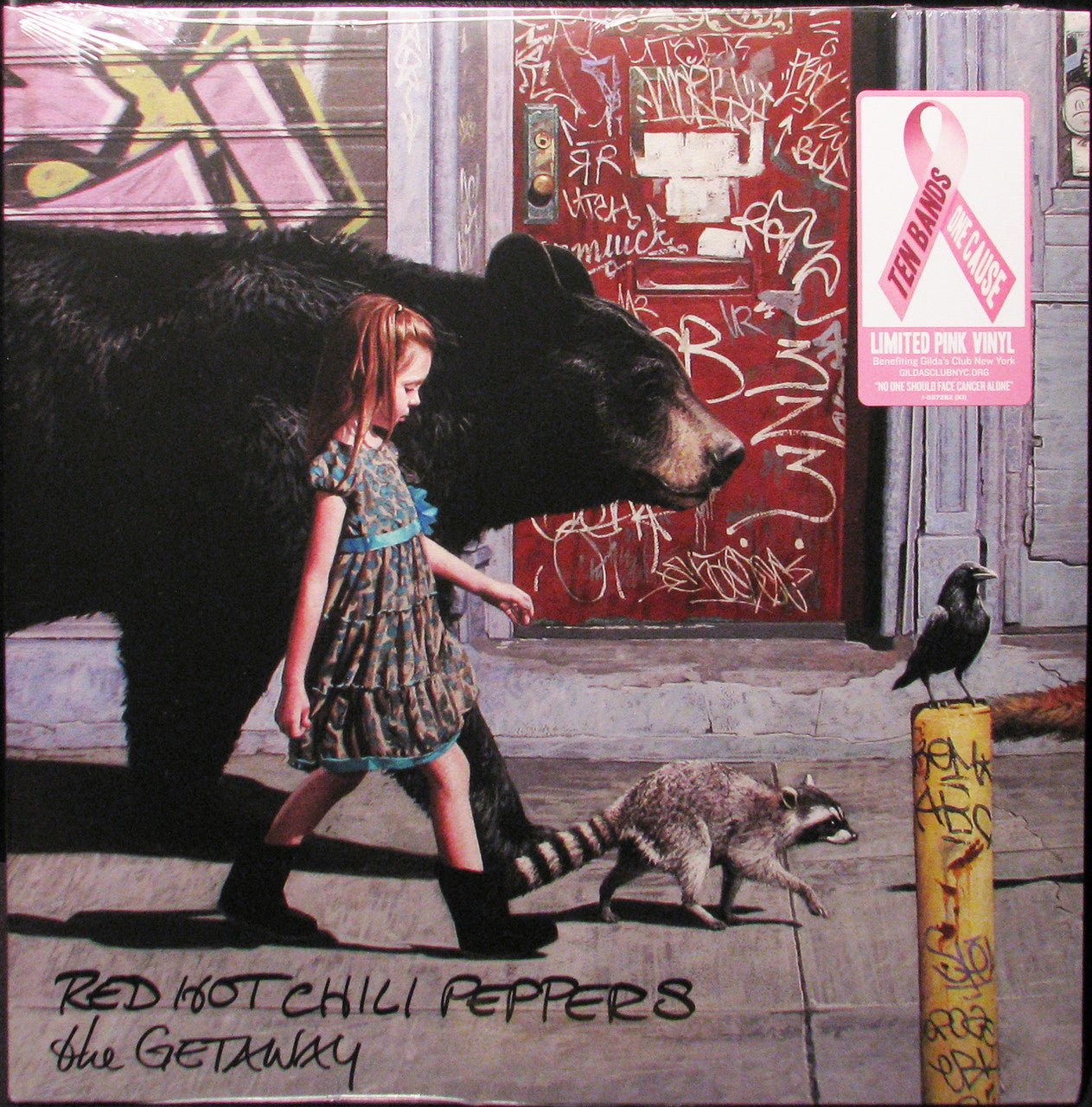 Red Hot Chili Peppers The Getaway New Vinyl Record