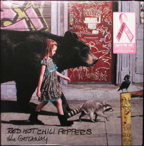 Red Hot Chili Peppers - The Getaway - New Vinyl Record 2016 Warner Bros Gatefold Limited Edition 'Ten Bands, One Cause' Pink Vinyl 2-LP, Produced by Dangermouse! - Rock / Pop