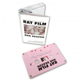 Dan Deacon - Rat Film (Original Film Score) - New Cassette 2017 Domino Recordings Pink Tape - Soundtrack / Score
