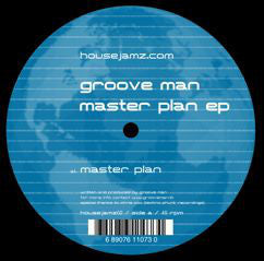 "Groove Man ‎– Master Plan EP - Mint 12"" Single USA 2006 - House"
