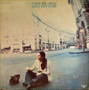 Risa Potters ‎– Take Me Away - VG+ Lp Record 1972 USA Original Vinyl - Rock