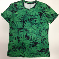 Weed or Marijuana - 88% Polyester / 12% Spandex Blend T-Shirt