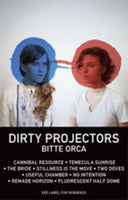 Dirty Projectors ‎– Bitte Orca - New Cassette 2009 Domino Limited Edition White Tape with Download - Alt-Rock / Synth Pop