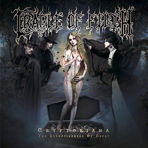 Cradle Of Filth ‎– Cryptoriana: The Seductiveness Of Decay - New Vinyl Record 2017 Nuclear Blast 2LP Pressing on 'Pink/Yellow Swirl' Vinyl (Limited to 300!) - Black Metal