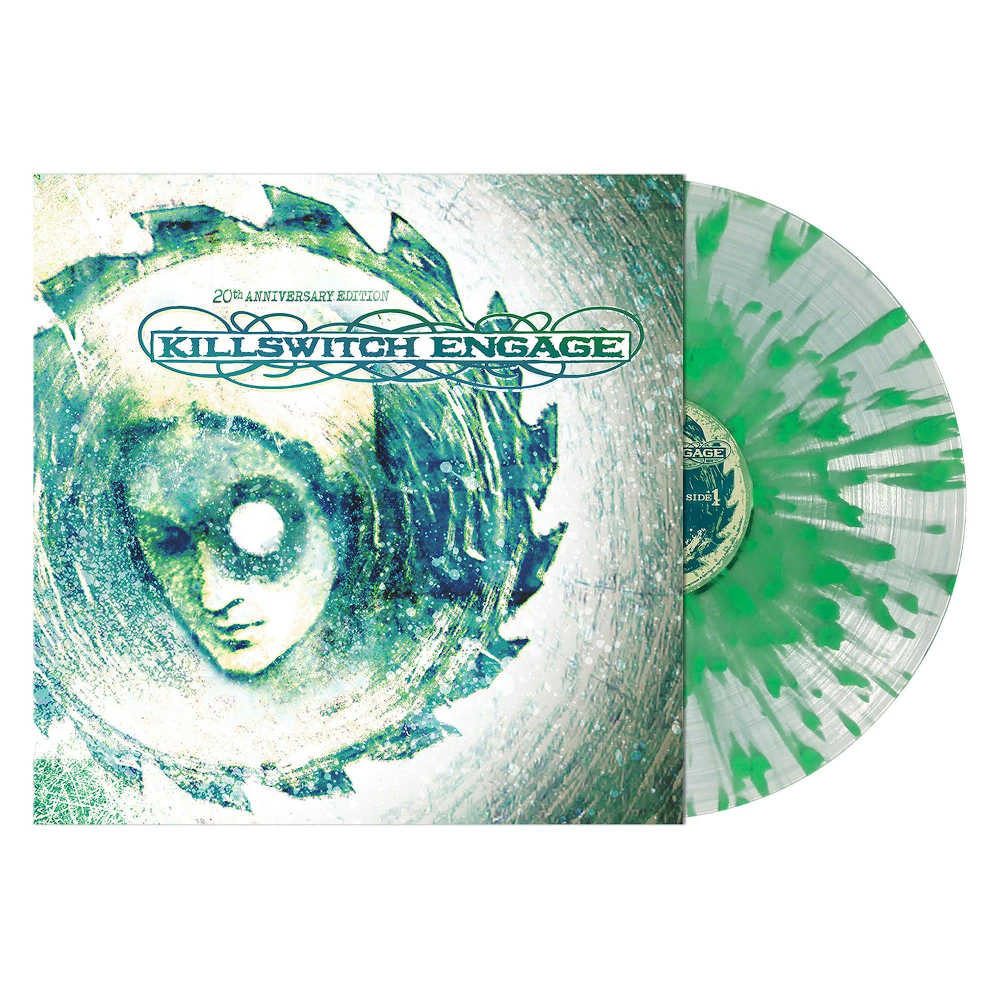Killswitch Engage ‎– Killswitch Engage (2000) - New LP Record 2020 Metal Blade Limited Clear With Doublemint Splatter Vinyl - Metalcore