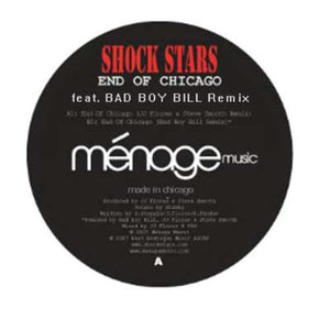 "Shock Stars ‎– End Of Chicago - Mint 12"" Single 2007 - Chicago House"