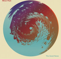 (PRE-ORDER) Minor Poet - The Good News - New Lp 2019 Sub Pop Limited Loser Edition on Clear with Blue & Red Vinyl - Indie Rock