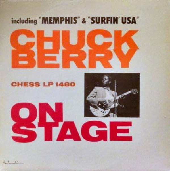 Chuck Berry ‎– Chuck Berry On Stage - VG+ 1963 Mono Chess Recors USA - Rock
