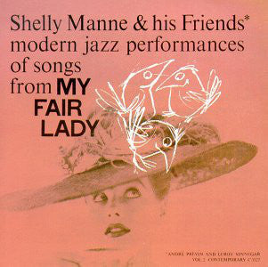 Shelly Manne & His Friends - Modern Jazz Performances Of Songs From My Fair Lady - VG 1956 Mono USA Original Press - Jazz