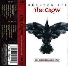 Various - The Crow (Music From The Original Motion Picture) VG+ - 1994 Atlantic USA Cassette - Soundtrack/Rock