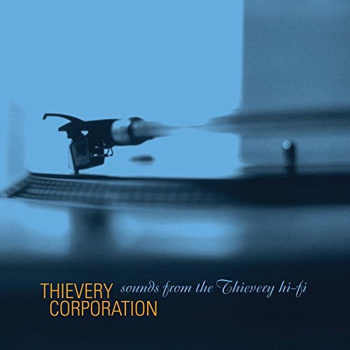 Thievery Corporation ‎– Sounds From The Thievery Hi-Fi - New 2014 Record 2 LP Black 120 Gram Vinyl Reissue - Trip Hop / Downtempo