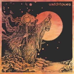 "Watchtower ‎– Radiant Moon - New 10"" Single Record 2017 Magenetic Eye USA Electric White with Pink Splatter Vinyl - Doom Metal / Stoner Rock"